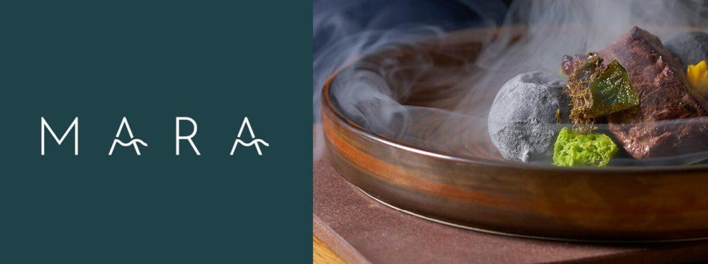 Mara identité graphique inspirante de ce restaurant italien loin des clichés
